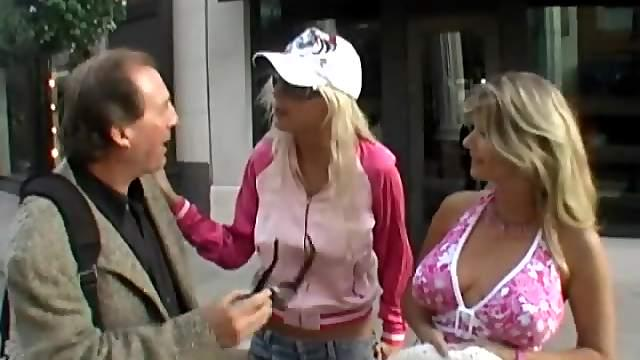 Puma Swede chats to her GF in reality public scene