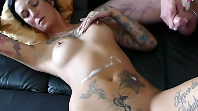 German amateur homemade threesome with milf