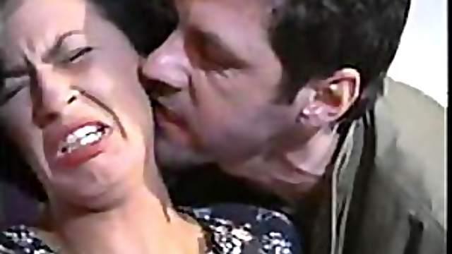 Italian Fugitive Fucks Mature With a Gun on Her Head