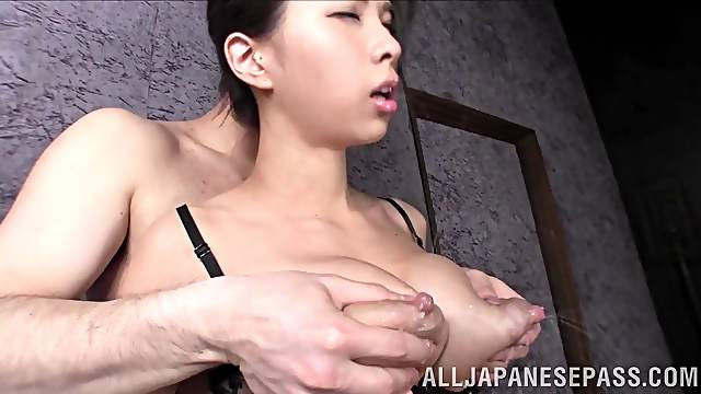 Big lactating Japanese tits were meant to be sucked on