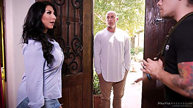 Raven Hart cannot wait to be fucked by a handsome lover