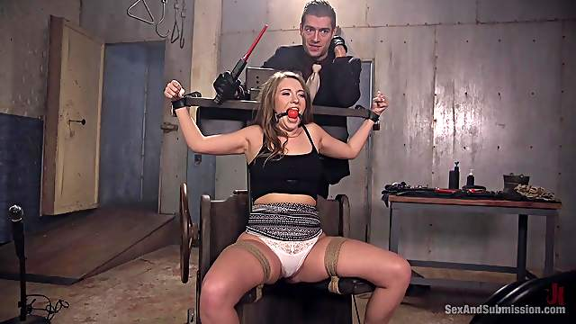 Hot and tied Xander Corvus likes hard anal sex with strong dude