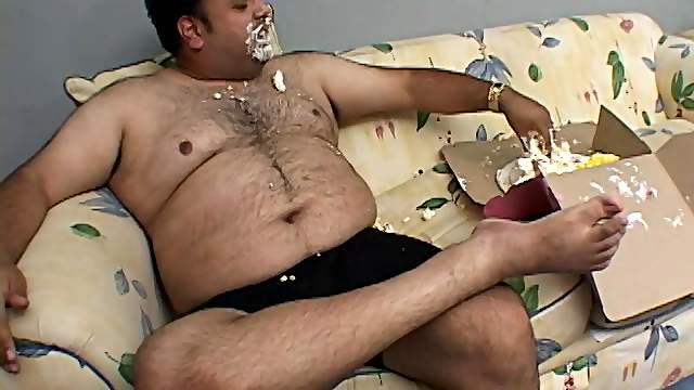 Model with long hair fetish guy with food before getting fucked Hardcore