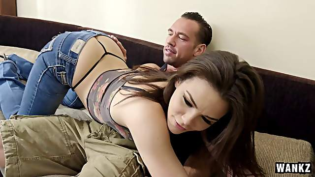 Her sexy body is a dream as the girl sucks dick and gets laid