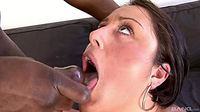 Chubby mature Victoria Braun gets fucked by a large black dick