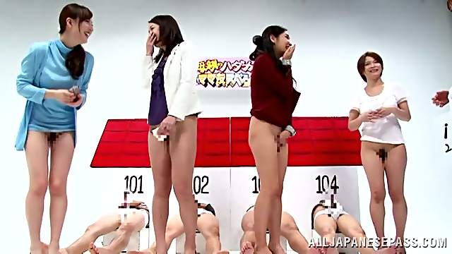 Lots of Sex in Kinky Japanese Reality TV Show with Hot Chicks