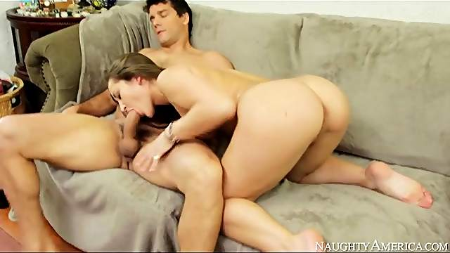 Sexy Dani Daniels has a hot hardcore fuck