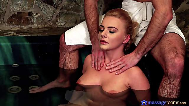 Blondie rides the soul out of this man's dick