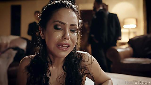 Alina Lopez fucked hard at an upscale businessmen gathering