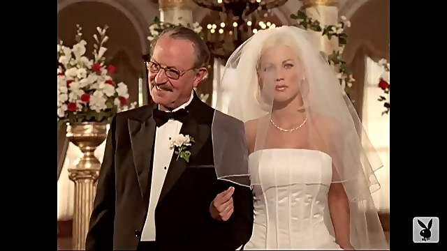 Dalene Kurtis as busty bride
