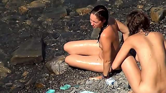 Hidden cam views with nude dolls
